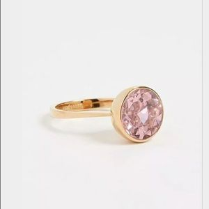 Kate Spade New York Reflecting Pool Pink  Ring